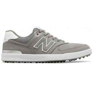New Womens New Balance 574 Greens Golf Shoes Grey / White Size 7 M