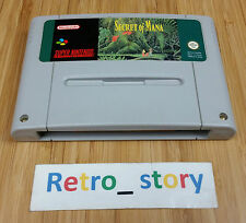 Super Nintendo SNES Secret Of Mana PAL