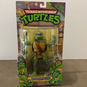 TMNT Donatello 1988 Playmates Animation Classic Ninja Turtles Figure NEW