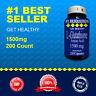 L-Glutathione Amino Acid 1000mg +500=1500 Quality Potency Purity 200 Cap USA