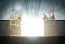 10x8ft Background Heaven's Gate Light Christianity Photo Props Backdrop Studio