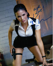 """Katrina Law  signed """"Arrow""""  actress authentic guaranteed with signing details"""