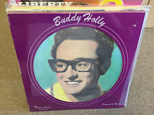 Buddy Holly Picture Record Number One vinyl LP Pic Disc Solid Smoke SEALED 45RPM