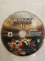 Blitz: The League II (Sony PlayStation 3 PS3) Disc Only Football FREE S/H RARE