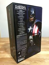 Hot Toys Captain America MMS156 First Avenger (Brand New) Chris Evans 1/6 Figure