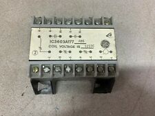 USED GENERAL ELECTRIC RELAY IC3603A177AB6