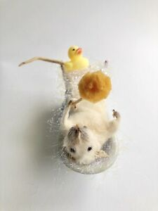 Taxidermy Mouse In The Bath - Made To Order