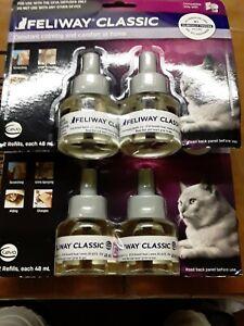 Feliway Classic CAT Diffuser Refills 2x 2ct 4 in total EXP 3/2021