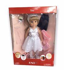"""FAO Schwarz 2010 TESS Ballerina 18"""" Doll  in Box"""