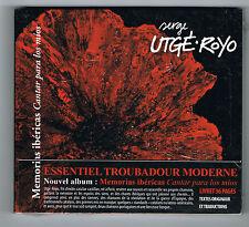 SERGE UTGÉ-ROYO - MEMORIAS IBÉRICAS - CD 23 TITRES - 2014 - NEUF NEW NEU