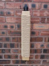 Wall Mounted Sisal Scratching Post for Cats - Custom Built