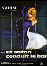 affiche du film ET SATAN CONDUIT LE BAL 120x160 cm