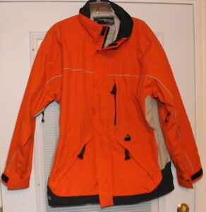 OBERMEYER Ski Snowboard Winter Parka Coat Mens Size L - Large - Many Pockets