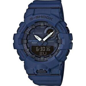 Casio G-Shock gba-800-2aer Blue Shockproof Bluetooth Sports Shock LED light