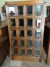 Antique pattern cabinet
