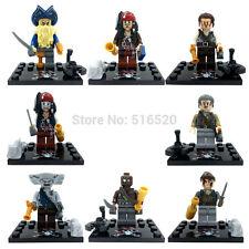 Pirates Of The Caribbean Jack Sparrow Barbossa minifigures building toys lego