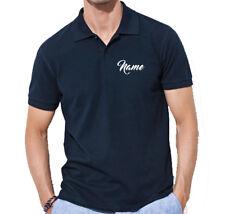 Polo-Shirt con nombres/initalen tras bordado deseo! talla S hasta XXXL