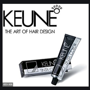 Keune Tinta Color Permanent Hair Color 60ml Tube + DEVELOPER 6% 20 VOL UK SELLER