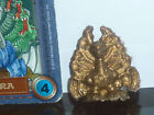 MONSTER IN MY POCKET MIMP GOLD oro HYDRA action figure RARE + Card italia IDRA