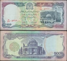 AFGHANISTAN - 5000 afghanis SH1372 (1993AD) P# 62 Asia - Edelweiss Coins
