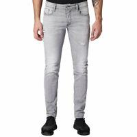 DIESEL SLEENKER 084RZ Mens Denim Jeans Stretch Slim Fit Skinny Distressed Pants