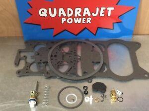 Quadrajet Rebuild Kit. Buick 77-87, Chevrolet 87, Chevy GMC 77-78,Olds 75-87 Pon