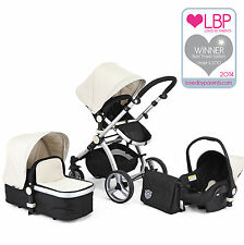 Pluripremiato BLACK & WHITE Carrera Sport 3 in 1 Baby Travel System / Passeggino / Carrozzina