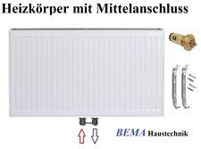 Typ 22 - BH 600 x BL  800 mm * Ventilheizkörper mit Mittelanschluss