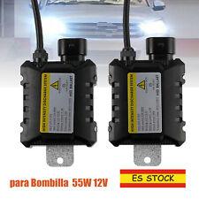 2x HID Xenon Balasto digital DC Lastre para todas las bombillas 55W 12V D2S H7