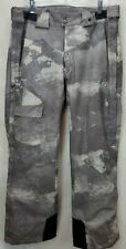 Spyder Mens XTL 20,000 Ski Snowboard Pants Size Medium Gray Insulated Recco Zip