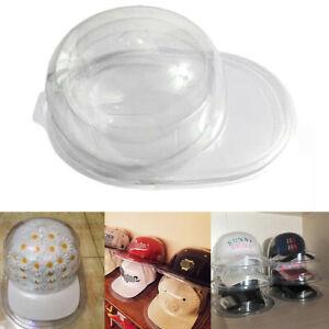 Baseball Cap Holder PVC Clear Plastic Storage Hat Display Case Protector Shop
