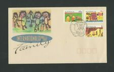 Australia:  1994 International Year of The Family FDC - Canberra Cancellation