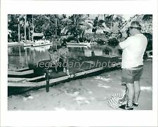 Polynesian Cultural Center Oahu Hawaii Original News Service Photo