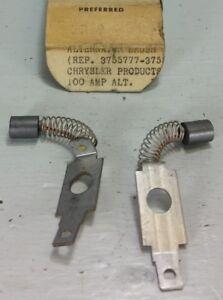 Alternator Brush Set 2 Pack Fits Chrysler 100 Amp Alternators External Regulato