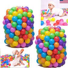 200x 5.5cm Colorful Fun Ball Soft Plastic Ocean Ball Baby Kid Toy Swim Pool Pit