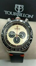Orologio Tourbillon Bullhead 42mm Stile Vintage Acciaio Miyota Citizen OS20