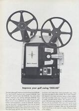 1964 Bell & Howell 383Y Movie Projector PRINT AD