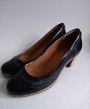Timberland Earthkeepers Bottes en Cuir Noir Escarpins Chaussures Talons Taille UK 6 EUR 39