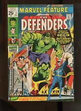 MARVEL FEATURE #1 (5.0) 1ST  DEFENDERS!