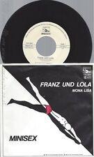 """7""""MINISEX--FRANZ UND LOLA"""