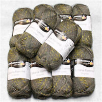 "500g (27€/kg) Schachenmayr "" Catania Flamme´ "" 387 fango 100% Baumwolle Wolle"