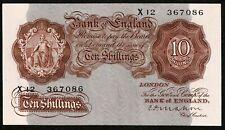 More details for * bank of england * 10/- * mahon * p362a / b210 * prefix x12 * gvf