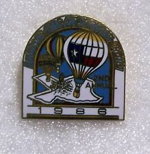 2ND ANNUAL LUBBOCK HOT AIR BALLOON RALLY BALLOON PIN