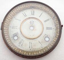 Antique Waterbury Mantel Shelf Clock Dial Bezel Parts Repair
