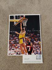 Vlade Divac Autographed Los Angeles Lakers 8x10 Photo. UDA