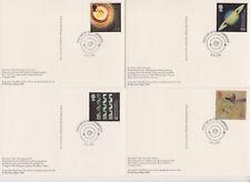 GB POSTCARDS PHQ CARDS USED REAR FDI No 210 1999 SCIENTISTS' TALE MILLENNIUM SET