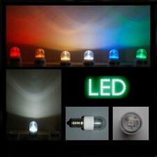 LED 0,6W E14 klar weiß farbig Lampe Kühlschrank Signal