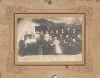 Photo ancienne  mariage vendéen noce maraichine costumes et coiffes