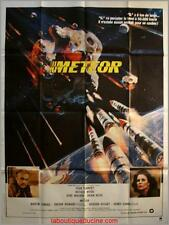METEOR Movie Poster / Affiche Cinéma SEAN CONNERY Natalie Wood