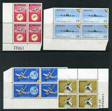 Ghana 1958 Ghana Airways set in blocks of 4 mint